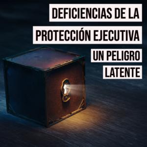 Deficiencias de la Protección Ejecutiva