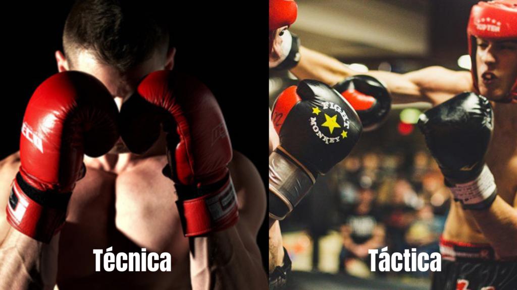 Diferencia entre técnica y táctica