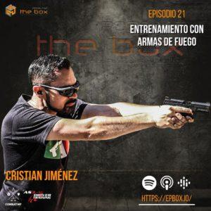 Cristian Jimenez instructor de tiro